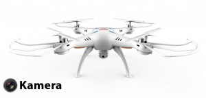Syma X5SC (kamera HD 720p, 2.4GHz, zasięg do 50m)